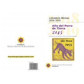 Calendario Tibetano 2018/2019 (Spagnolo)