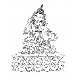 [Audio download] Practicing Together: Vajrasattva and 25 Spaces (mp3)