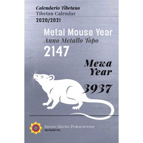 Tibetan Calendar / Calendario Tibetano 2020 - 2021