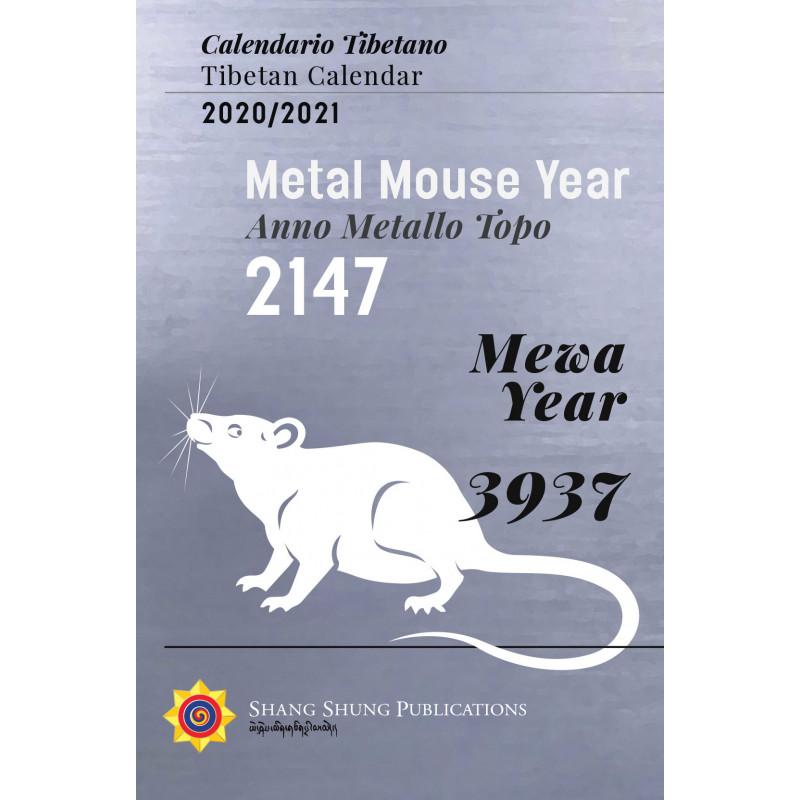 Tibetan Calendar / Calendario Tibetano 2020   2021