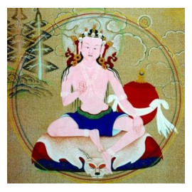 Guru Yoga of the White A