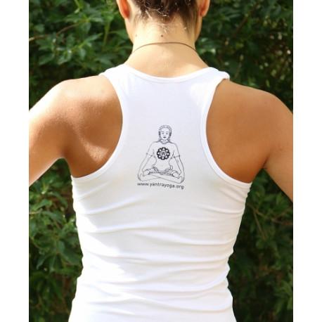 Female Yantra Yoga T-Shirt - no sleeves