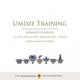 Umdze Training Melodies of the Ganapuja
