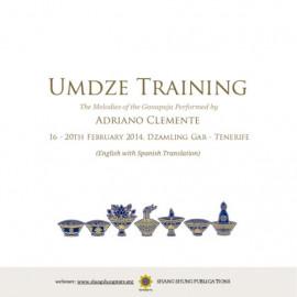 Umdze Training Melodies of the Ganapuja