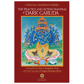 The Practice and Action Mantras of Dark Garuda + Audio CD